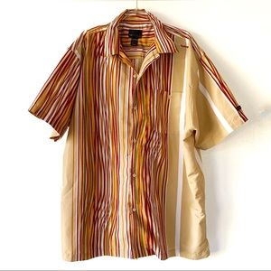 FUBU The Collection Button Down Short Sleeve 3X